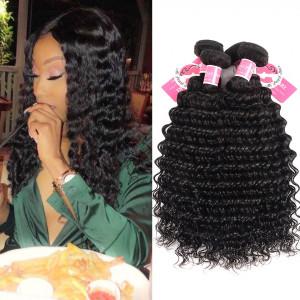 Ali Pearl 4 Bundle/Lot Deep Wave Brazilian Virgin Hair