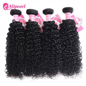 Ali Pearl Malaysian Virgin Hair Kinky Curly 4 Bundles